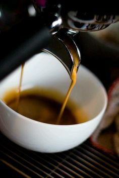 Procaffeinating. (n.)— the tendency to not start aything until you've had a cup of coffee.