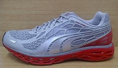 Kode Sepatu: Puma Bioweb Elite Running Silver Red Ukuran Sepatu: 42.5 Harga: Rp. 570.000,-  Untuk pemesanan hub 0831-6794-8611 Puma Original, Cleats, Running Shoes, Sneakers, Fashion, Football Boots, Runing Shoes, Tennis, Moda
