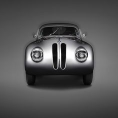 """Art gallery LUMAS recently teamed up with BMW for a one-off project showing the fascinating history of some of BMWs most impressive and exciting cars. The series, shot by Erik Chmil, shows a total of ten models, each of which they consider """"a landmark in the history of contemporary automobile design."""" Each automobile is shot from the front and the side so that one can see and appreciate its distinct shape, beauty and character."""