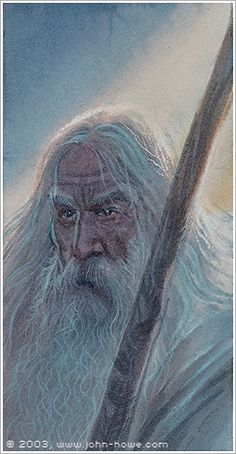 GANDALF THE WHITE BY JOHN HOWE