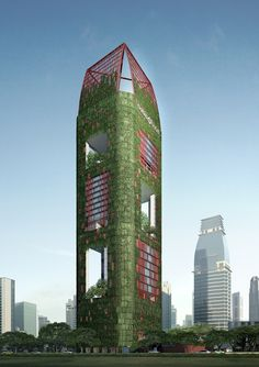 Against a landscape of modern buildings clothed in glass and steel, PS100/Oasia Downtown will take on a cloak of green, dressed in lush growing vertical landscapes. Architect WOHA, well known for its work in tropical locations and on high- rise apartments described as innovative, sustainable and green, was engaged to bring PS100's unique green living façade and concept to life.