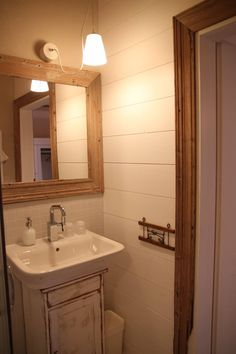 #przechowalniamarzen #mikolajki #mazury #poland #masuria #bathroom #holidays #travel #unterkunft #urlaub #natura #mirrow #romantic, #idea #interior #design Decor, Furniture, Home Decor, Bathroom Mirror, Framed Bathroom Mirror, Bathroom