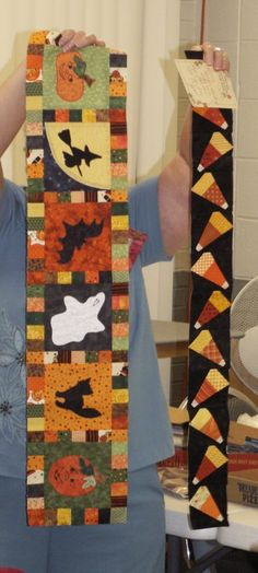 Row Quilt Ideas...great fall, wall hanging ideas