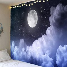 Fashion Clothing Site with greatest number of Latest casual style Dresses as well as other categories such as men, kids, swimwear at a affordable price Night Sky Painting, Moon Painting, Cloud Drawing, Wall Drawing, Art Mural, Wall Murals, Art Mini Toile, Ciel Art, Night Clouds