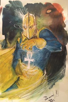 Doctor Fate by Rod Reis