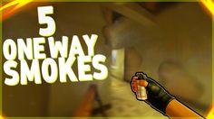 5 ОЧЕНЬ ПОЛЕЗНЫХ ВАН ВЕЙ СМОКОВ В CS:GO! | 5 ONE WAY SMOKES IN CSGO