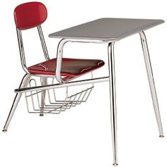 """Capitol Seating 915 Legacy Series Combination Desk with Book Basket by Capitol Seating. $151.29. 915 Legacy Series Combination Desk with Book Basket 15 ½"""" Capitol Seating Premium Quality is the strongest, most durable combination desk in classroom furniture today. A published lifetime structural frame warranty attests to the engineering and structural stability of this desk. The Book Basket is 8 ½"""" x 12"""" x 11 ¼"""" and is constructed o..."""