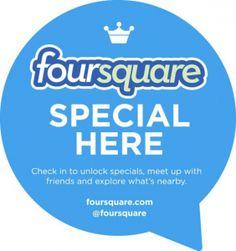 Il 1 Febbraio si è ufficialmente completata la rivoluzione degli #Special su #Foursquare