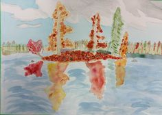 Fine Arts: Fall Colours with #Watercolours painted by #KASE's young artist. #KASE #KASEArt #Art #Georgetown #Ontario