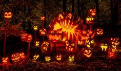 Angry Jack-o-lanterns