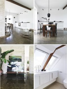 I absolutely love concrete flooring.