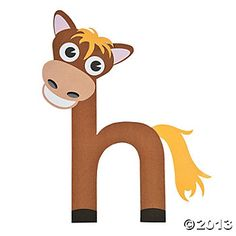 Free alphabet letter h printable crafts for kids preschool h is for horse lowercase h spiritdancerdesigns Gallery