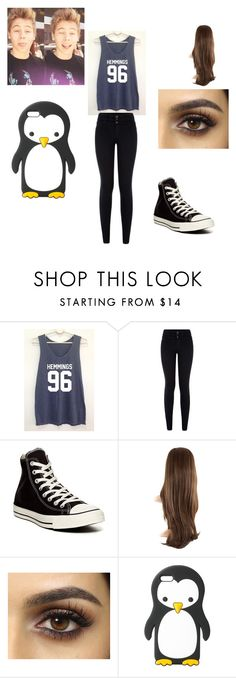"""""""Luke Hemming girl"""" by foreverme0208 ❤ liked on Polyvore featuring Converse and MANGO"""