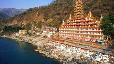 """Rishikesh, India: """"Located at the foothills of the great Himalayas and the banks of the holy river Ganges, Rishikesh is an ideal place for a spiritual retreat. The city has attracted a lot of spiritual leaders to establish ashrams and yoga schools, providing tourists and pilgrims a nourishing atmosphere to revitalize their mind, body and spirit."""" -- Yogi Kanna, author, Nirvana: Absolute Freedom"""