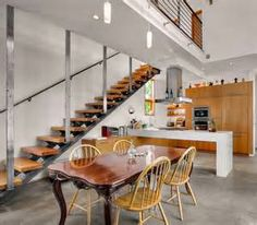 kitchen staircase ideas - Bing Images