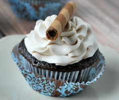 Mocha Cupcake with creamy Coffee Buttercream