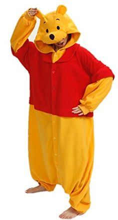 Sleepsuit Kigurumi Pajamas Costume Animal Cosplay Homewear Lounge Wear (L, Winnie Pooh) Superlieu http://www.amazon.com/dp/B00PT3FDBO/ref=cm_sw_r_pi_dp_n1w0vb0SMZ11V