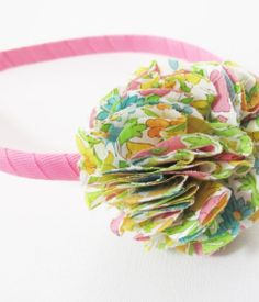 fete Ideas - Something Nice For Kids - Flower Power headband