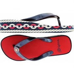 Brighton Anchors Away Cable Platform flip flops. THIS is the pair that I would love to own!