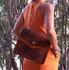 Saddle Bag / Leather Shoulder Bag / Leather Bag / Bolsos / Sac Cuir / Lederhandtasche / Bagstream Bag / Borsa di pelle / Leer Tas / حقيبة يد de BagStream en Etsy