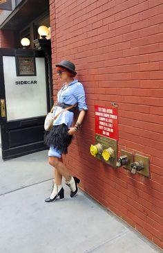 The wardrobe of Ms. B: tap dance dreams