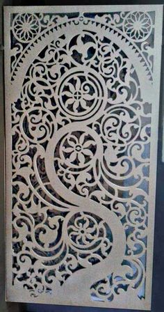 Styrofoam Art, Easy Gifts To Make, Stainless Steel Gate, Jaali Design, Pvc Pipe Crafts, Stair Railing Design, Laser Cut Panels, Door Gate Design, Metal Screen