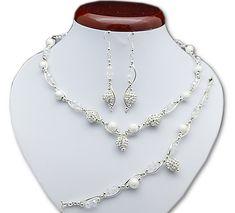 BIŻUTERIA ŚLUBNA KOMPLET ŚLUBNY wieczorowy posrebrzany kryształki ab cyrkonie   KP226 Diamond, Jewelry, Fashion, Jewlery, Moda, Jewels, La Mode, Jewerly, Fasion