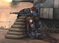 Safebooru is a anime and manga picture search engine, images are being updated hourly. Anime Military, Military Girl, Guerra Anime, Manga Anime, Anime Art, Character Art, Character Design, Valkyria Chronicles, Angel Warrior