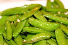 P.F. Chang's Garlic Snap Peas Recipe from Erika