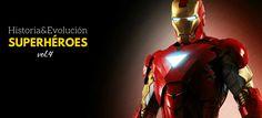 Historia y evolución de Iron Man #blog #tienda #disfraces #online #carnaval #halloween
