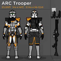 Star Wars Clone Wars, Star Wars Art, Guerra Dos Clones, Star Wars Commando, Star Wars Design, Galactic Republic, Star Wars Models, Star Wars Concept Art, Star Wars Ships