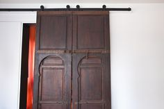 #WatchandPin  Farm doors, part of the design transformation.  #DearGenevieve  (Air Date:  Sept 21 4pmEST)