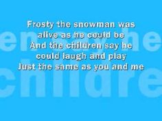 Frosty The Snowman - Lyrics    Song: http://www.thanksmuch.com/christmas/frosty-the-snowman-mp3.html