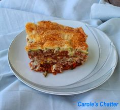 No pasta lasagne by Carole's Chatter