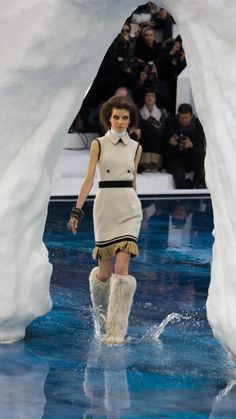 Paris Catwalk with Chanel Performance