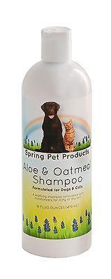 Cat Shampoo With Oatmeal