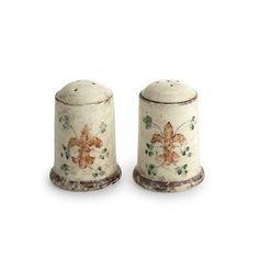 Medici Tall Salt & Pepper Shakers