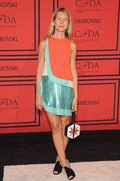 Natalie Joos attends 2013 CFDA FASHION AWARDS Underwritten By Swarovski - Red Carpet Arrivals at Lincoln Center on June 3, 2013 in New York City.