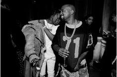 Travis Scott et Kanye West