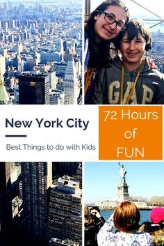 72 Hours in New York City with Kids