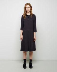 MARGARET HOWELL | Quad Pleat Dress | Shop at La Garçonne
