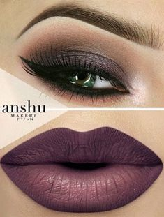 Beautiful makeup ideas Love the eye makeup- not crazy about the lip color! Cute Makeup, Gorgeous Makeup, Pretty Makeup, Sleek Makeup, Amazing Makeup, Makeup Goals, Makeup Inspo, Makeup Inspiration, Makeup Ideas