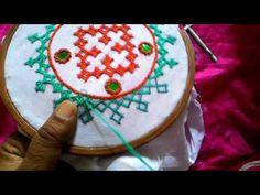4.Sindhi embroidery ,sindhi tanka,kutch work,gujrati stitch. Concept video for beginner's. - YouTube