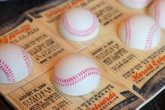 coolest baseball invitation ever