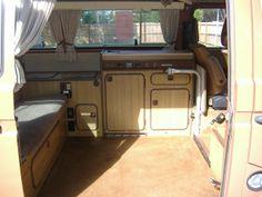 Volkswagen Westfalia Camper Interior