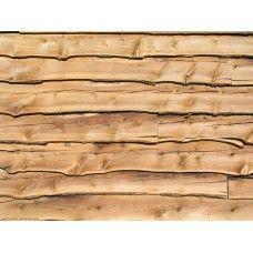 Ruwe houten schutting - A4-formaat, zelfklevend