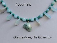 Keramik Schmucksets - Ensemble aus uralten Perlen, zeitlos elegant - ein Designerstück von 4yourhelp bei DaWanda