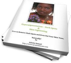 Hyperpigmentation, Dark Spots & Skin Lightening - eBook