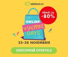 elefant.ro Shopping Day, Online Shopping, Blogging, Net Shopping