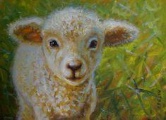 lamb paintings images | Mary Iselin Fine Art - Sheep & Lamb Paintings